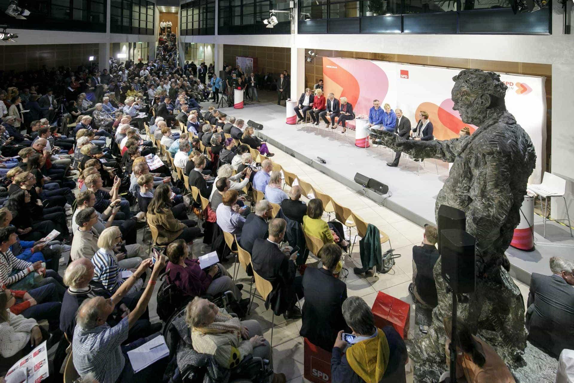SPD-Regionalkonferenz zur Vorstellung der Teams für den SPD-Vorsitz am 17.9.2019 im Willy-Brandt-Haus Berlin