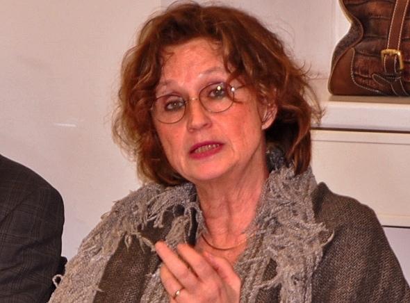Dr. Christina Tophoven, Geschäftsführerin der Bundespsychotherapeutenkammer bei der ASG Berlin