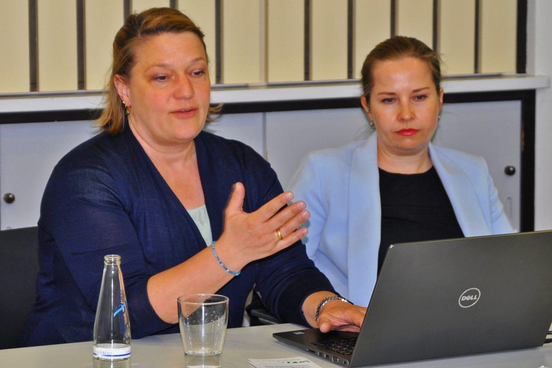 Dr. med. Nida Afsar und Kathrin Jackel-Neusser, Berliner Landesverband der Kinder- und Jugendärzte