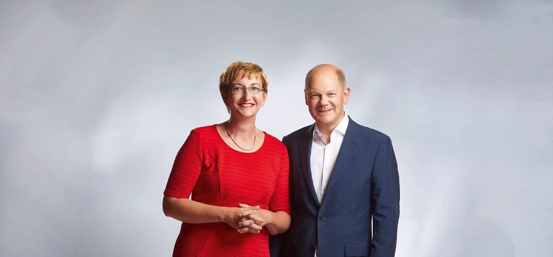 Klara Geywitz und Olaf Scholz