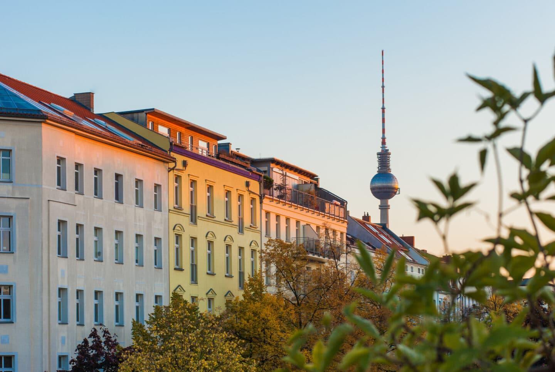 Mietendeckel: Wohnhäuser in Berlin Prenzlauer Berg