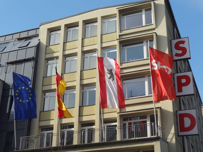 Kurt-Schumacher-Haus: Anlaufstelle für SPD-Mitglieder in Berlin
