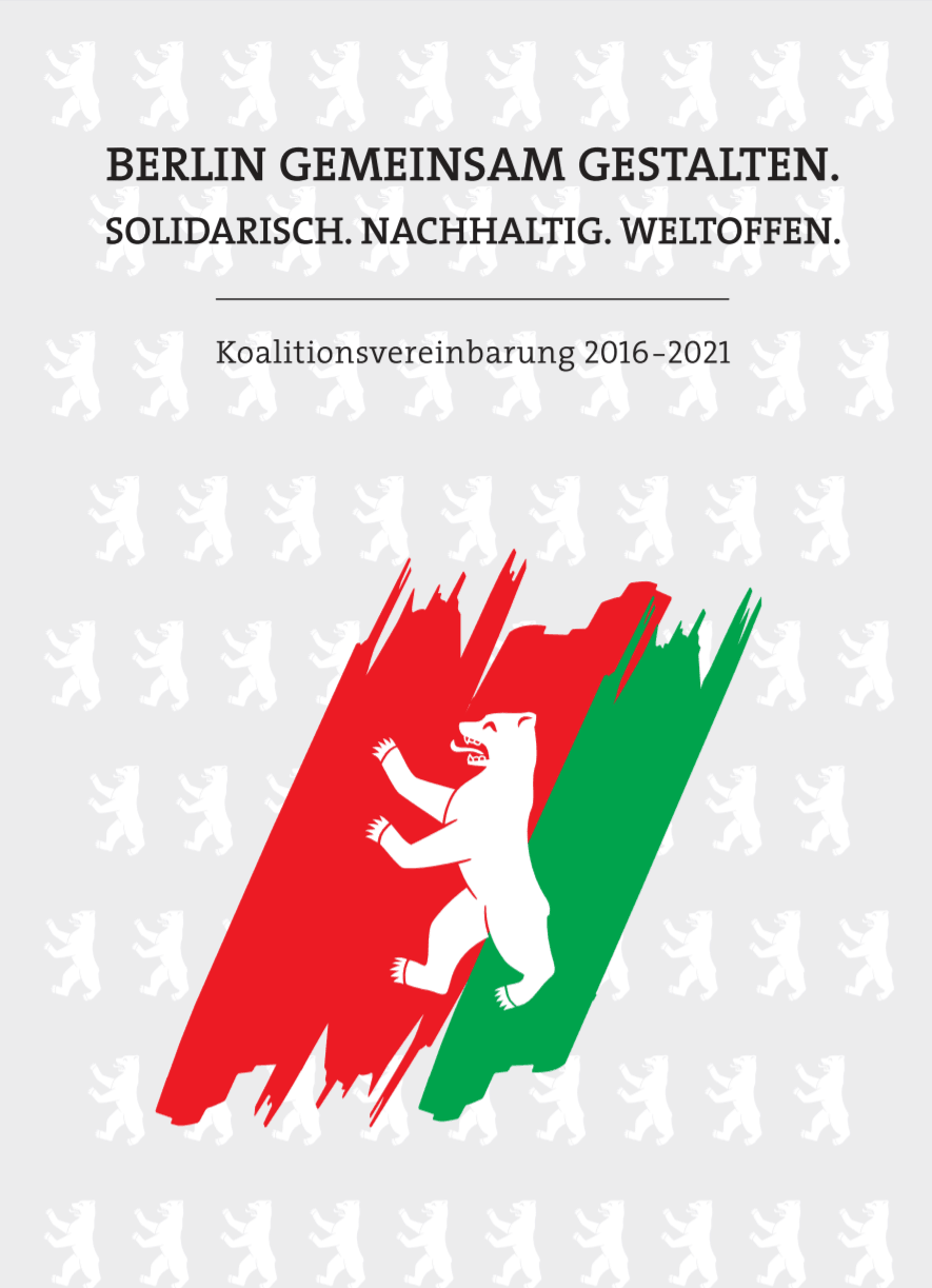 Titelseite Koalitionsvertrag