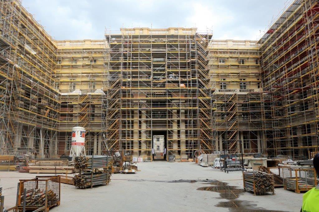 Baustelle Humboldt-Forum