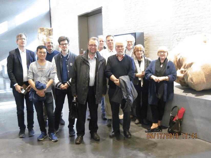 Mitglieder des Fachausschuss Kulturpolitik in der Spandauer Zitadelle