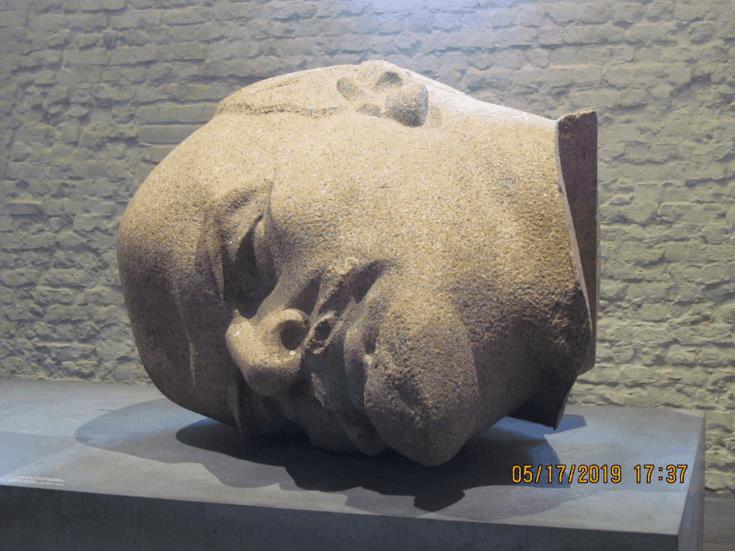 Kopf des Lenin-Denkmals von Nikolai Tomski