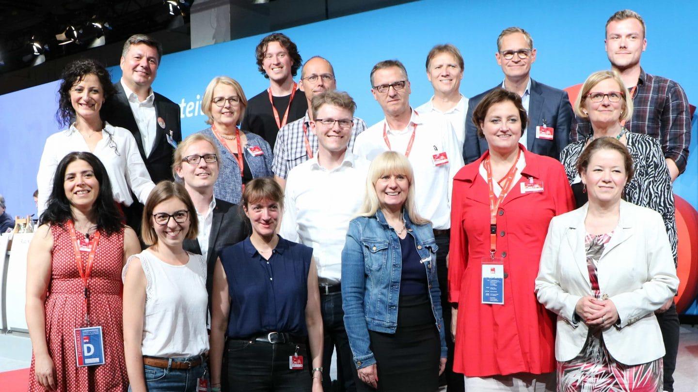 Mitglieder des Landesvorstands SPD Berlin