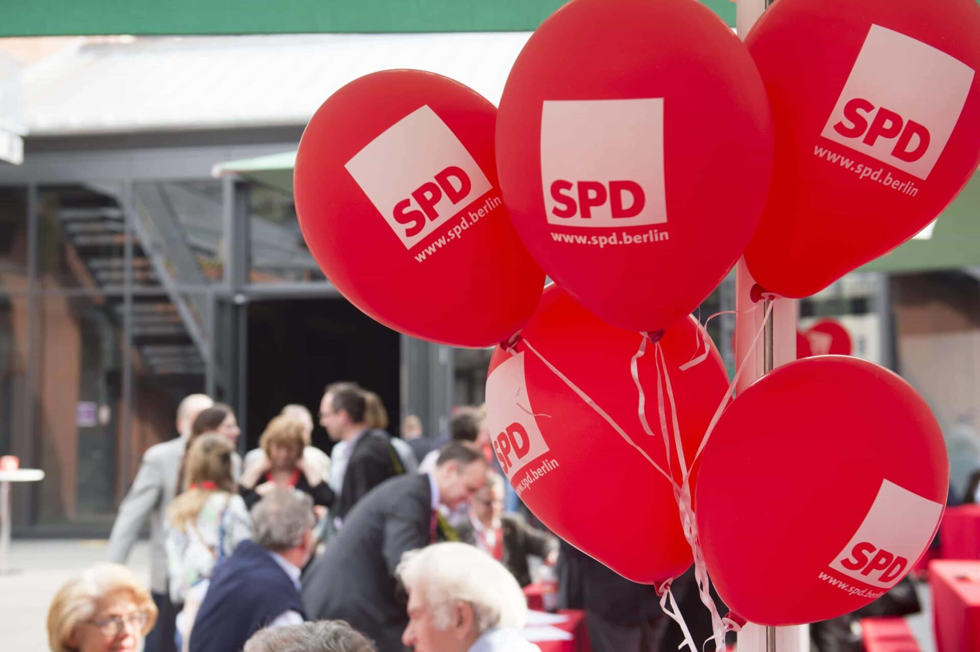 SPD-Luftballons