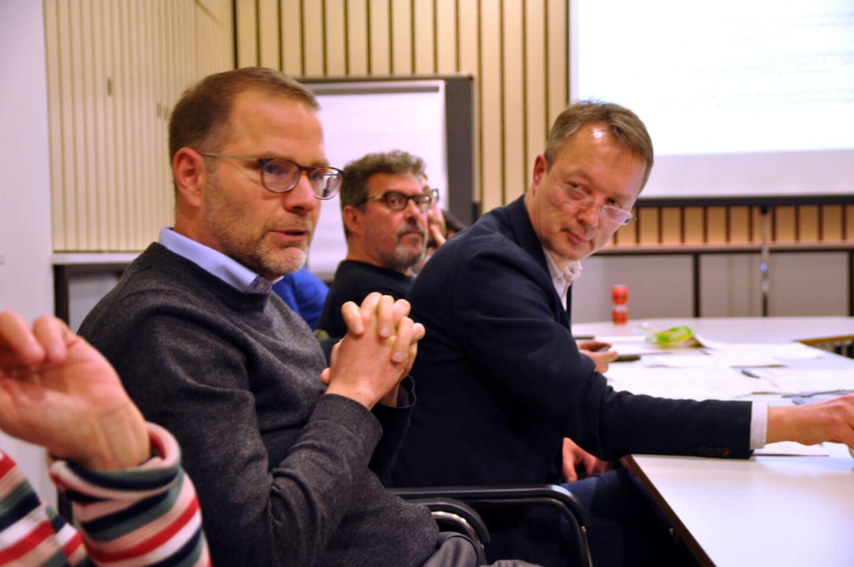 Martin Grenz und Carsten Glöckner berichten der ASG Berlin
