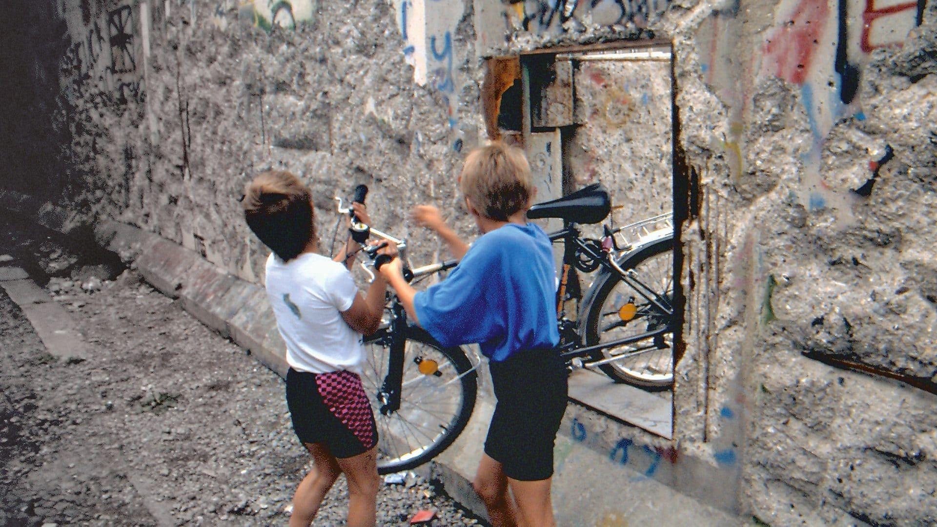 Mauertür: Titelfoto zur BS zum Mauerfall