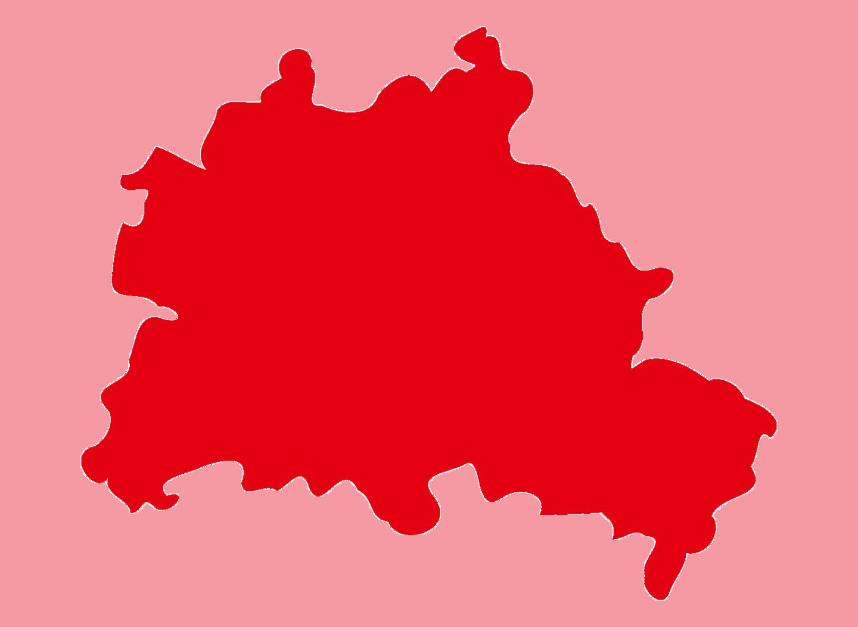 Umriss von Berlin