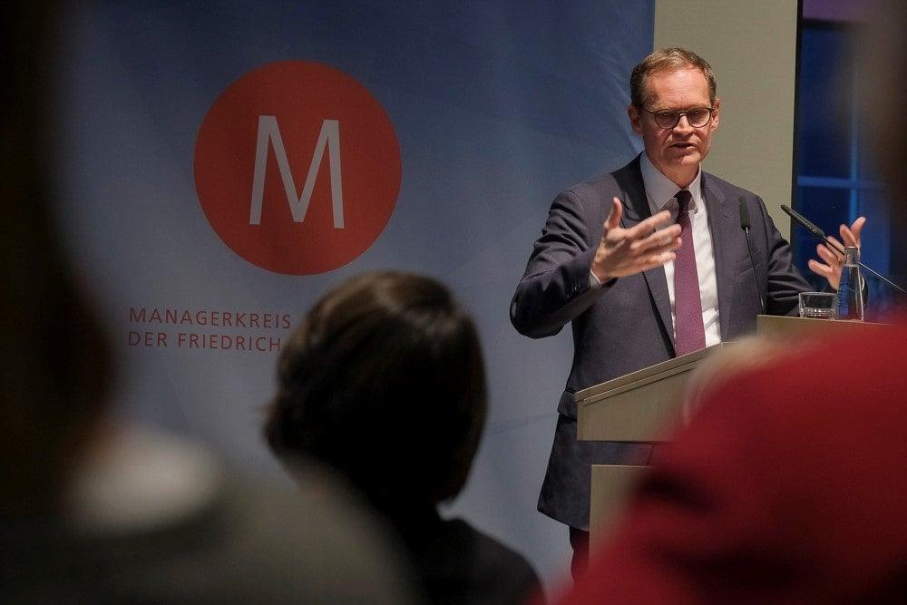 Michael Müller bei der Veranstaltung Medropolis