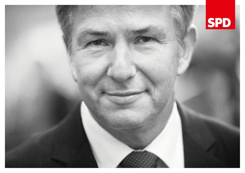 SPD-Wahlplakat 2011 mit Klaus Wowereit