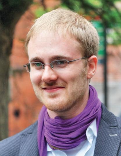 Oliver Gaida, Vorsitzender des SPD-Fachauschusses Strategien gegen rechts
