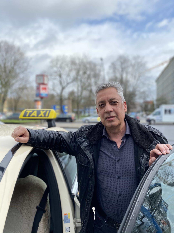 Carsten Reichert ist seit vielen Jahren in der Berliner Taxi-Innung.