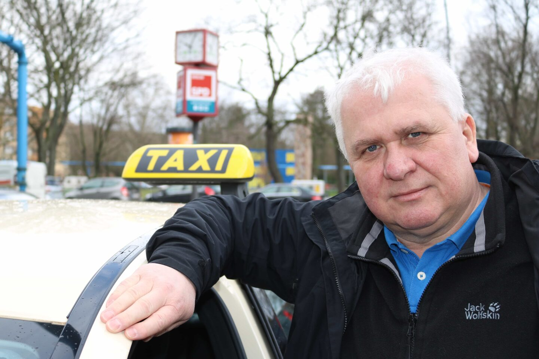 Leszek Nadolski ist der Chef der Berliner Taxi-Innung.