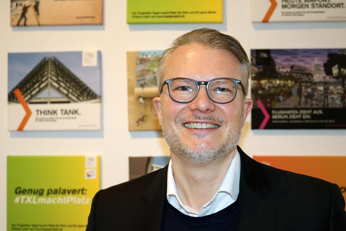 Philipp Bouteiller von der Tegel Project GmbH