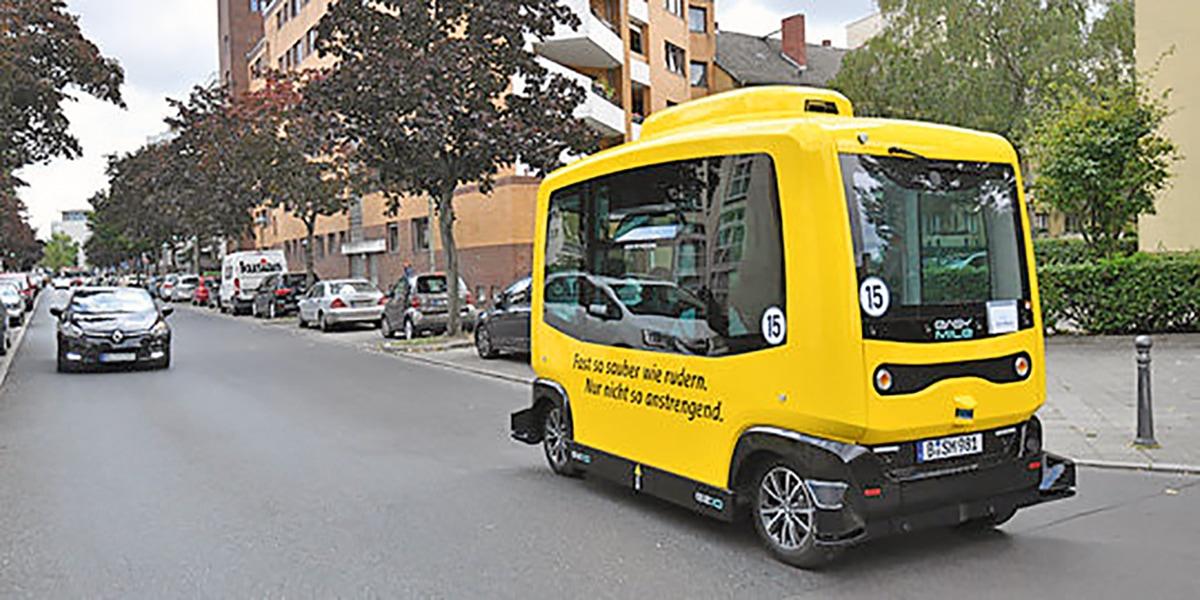 "Autonom fahrender Bus ""See-Meile"""