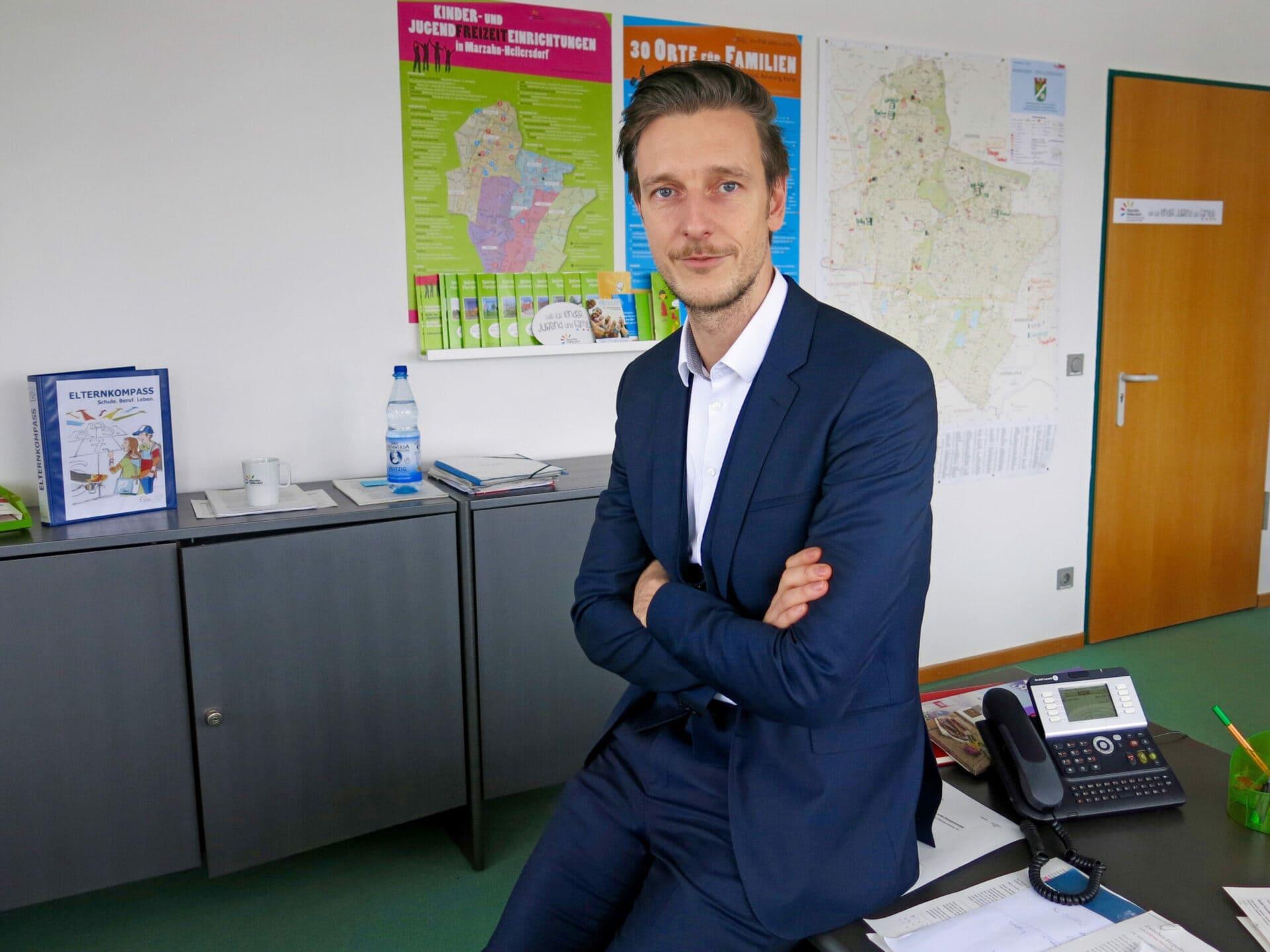 Gordon Lemm, Bezirksschulrat von Marzahn-Hellersdorf