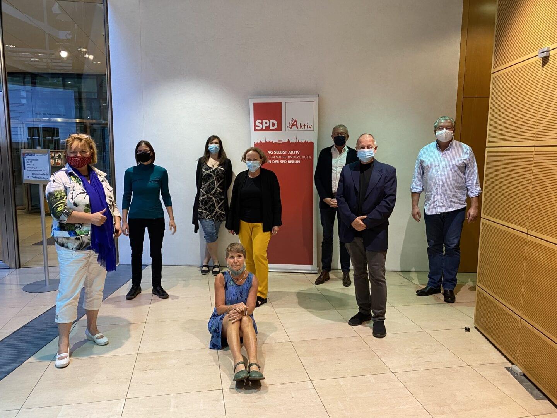 Arbeitsgemeinschaft Selbst Aktiv - Menschen mit Behinderungen in der SPD 1