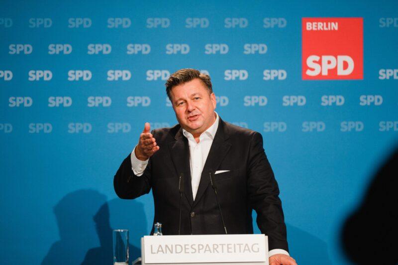 Andreas Geisel kandidiert beim hybriden Landesparteitag der SPD Berlin