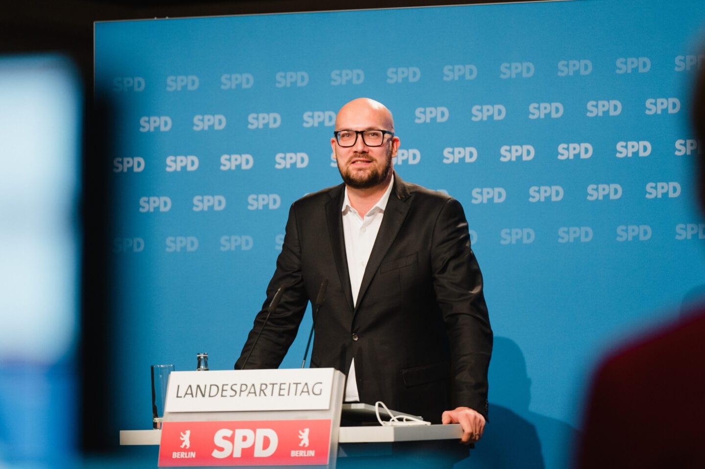 Berliner Modell: SPD Berlin führt erfolgreich ersten digitalen Parteitag durch 8