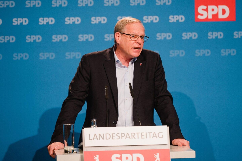 Robert Drewnicki kandidiert beim hybriden Landesparteitag der SPD Berlin