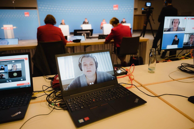 Berliner Modell: SPD Berlin führt erfolgreich ersten digitalen Parteitag durch 2