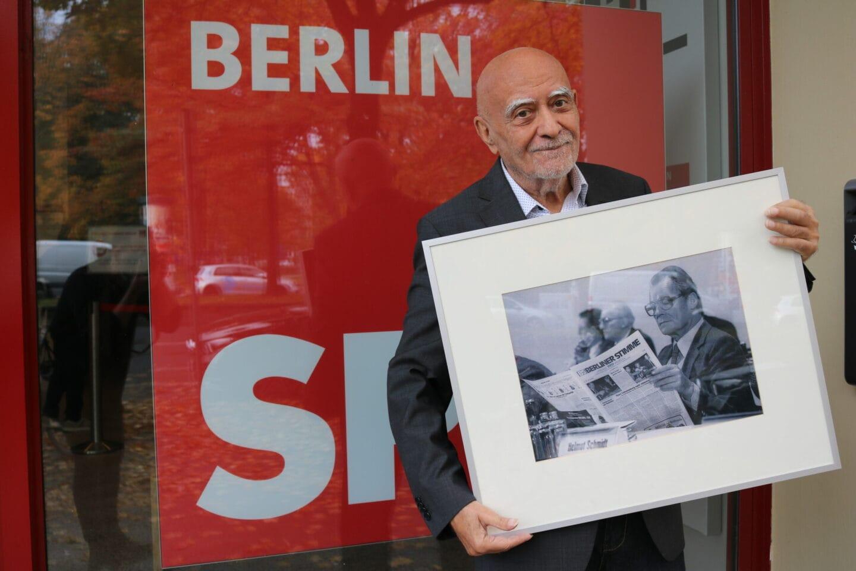 Alexander Kulpok war Redenschreiber von Willy Brandt.