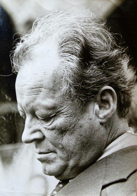 Bundeskanzler Willy Brandt Anfang der 70er-Jahre.