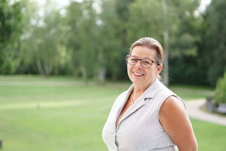 Ina Bittroff, ASF-Vorsitzende in Spandau