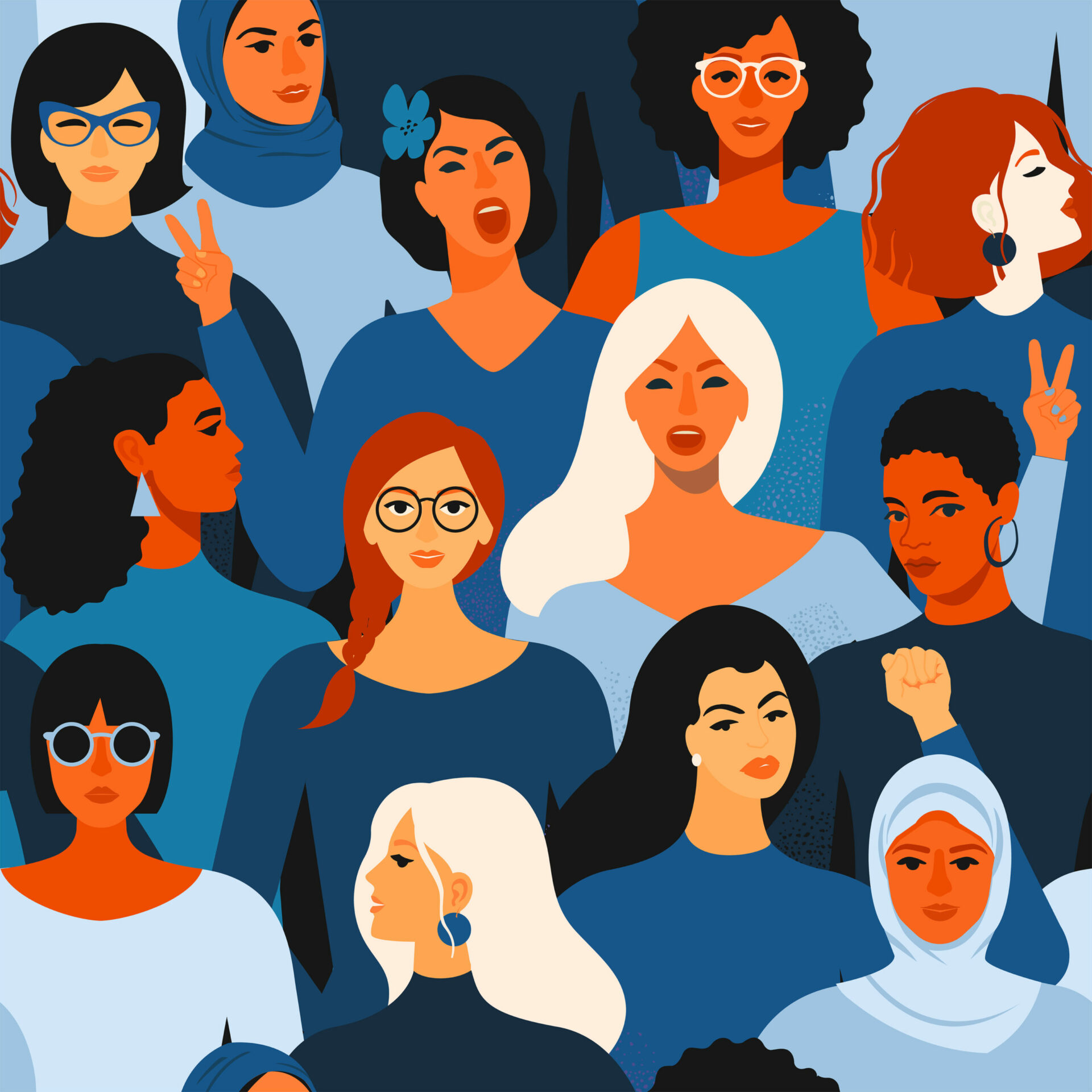 Frauentags-Ausgabe BERLINER STIMME 2021_Cover 2