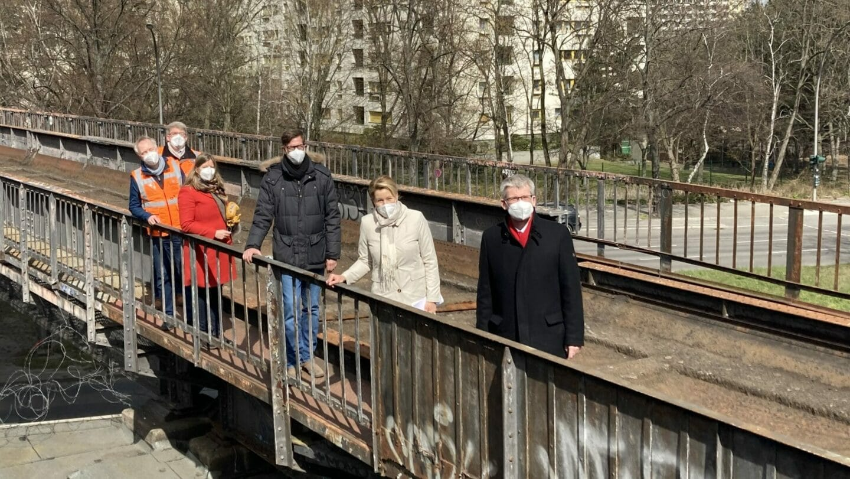 #HerzenssacheBerlin-Tour bei der Siemensbahn
