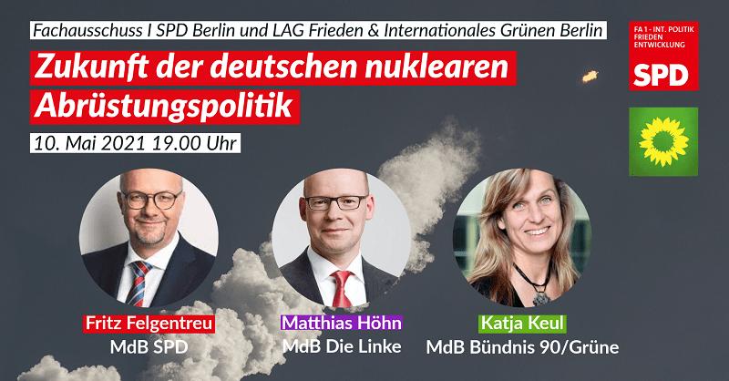 Veranstaltung des FA I zur Zukunft der deutschen nuklearen Abrüstungspolitik 1