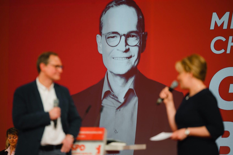 Landesparteitag der Berliner SPD: Ganz sicher Berlin 3