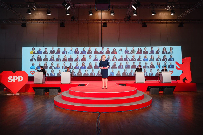 Landesparteitag der Berliner SPD: Ganz sicher Berlin 1