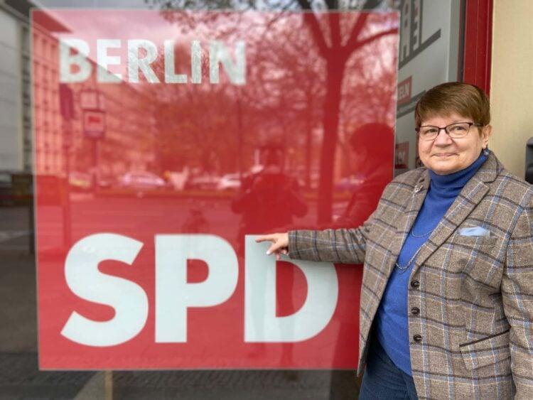 Heidemarie Fischer, Chefin der Berliner AG 60plus