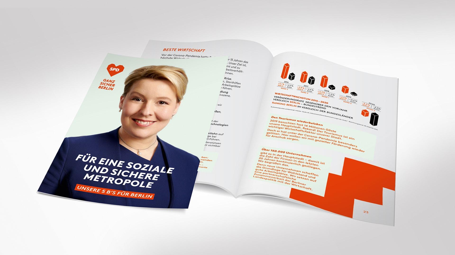 Kurzwahlprogramm der SPD Berlin