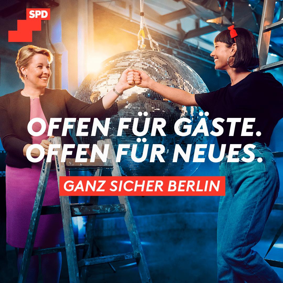 Offen für Gäste. Offen für Neues. Ganz sicher Berlin