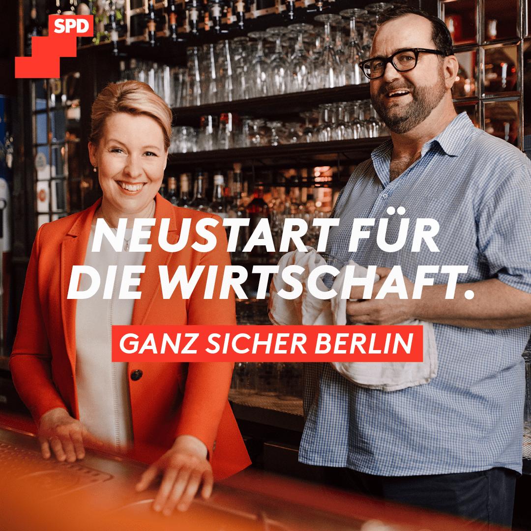 Neustart für die Wirtschaft. Ganz sicher Berlin